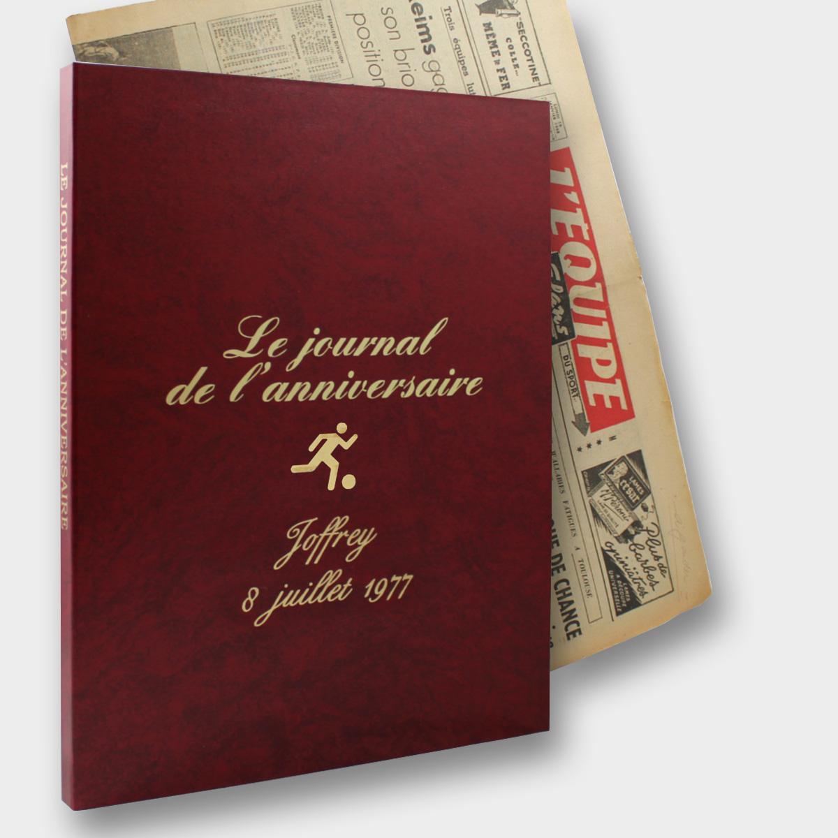 Coffret Rouge Sportif L'Equipe