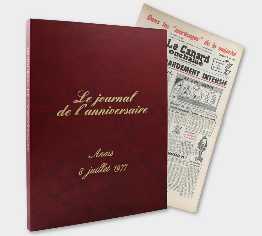 Canard Enchaîné Coffret Rouge