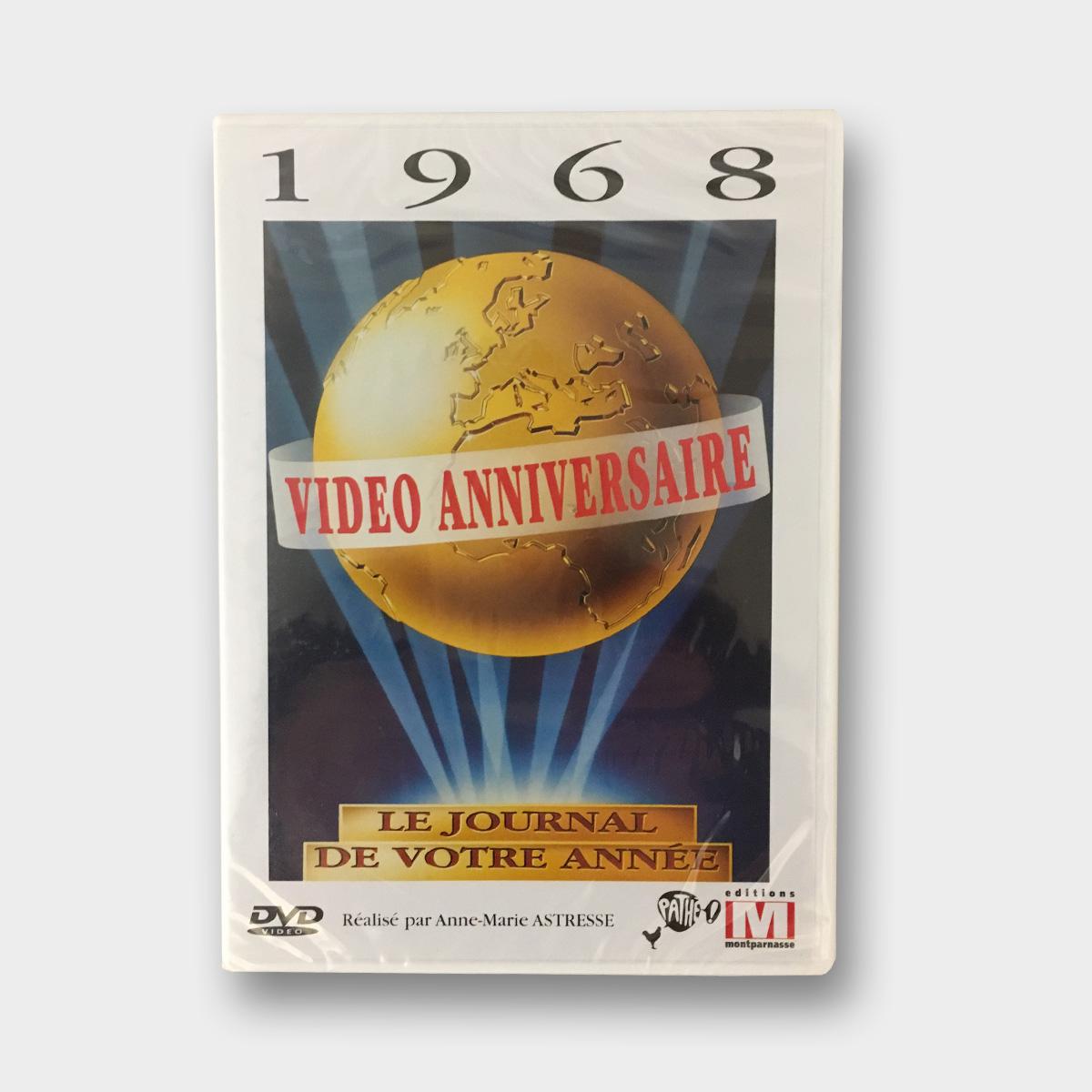 DVD anniversaire disponible à l'achat chez le journal anniversaire de la librairie la fontaine aux canards